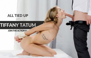 Tiffany Tatum, Kristof Cale – Sexy Frau lutscht einen Schwanz während sie gefesselt ist – The White Boxxx (LetsDoeit)